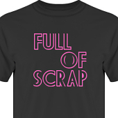 T-shirt, Hoodie i kategori Scrapbooking: Full of scrap